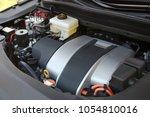 engine bay of a car  hybrid...   Shutterstock . vector #1054810016