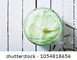 organic face cream anti aging...   Shutterstock . vector #1054818656