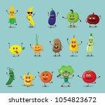 funny best friends... | Shutterstock .eps vector #1054823672