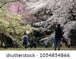 tokyo  japan   march 24th  2018 ...   Shutterstock . vector #1054854866