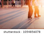 security guards are taking...   Shutterstock . vector #1054856078