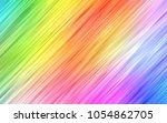 light multicolor  rainbow... | Shutterstock .eps vector #1054862705