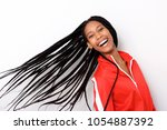 close up portrait of cheerful... | Shutterstock . vector #1054887392
