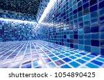 modern hammam with a swimming... | Shutterstock . vector #1054890425