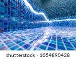 modern hammam with a swimming... | Shutterstock . vector #1054890428