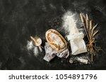 Rustic Bread  Flour Sprinkled...