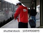 paris france mar. 22 2018.... | Shutterstock . vector #1054900895