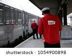 paris france mar. 22 2018.... | Shutterstock . vector #1054900898