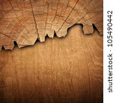 cracked wood board | Shutterstock . vector #105490442