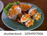crab seafood close up | Shutterstock . vector #1054907006