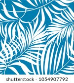 Seamless Pattern Of A Tropical...