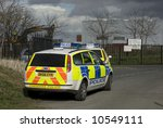 Uk Police Vehicles At The Scen...