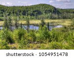 Gunflint trail is a 50 mile road winding through the Superior National Forest with no towns