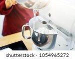cooking  food and kitchen... | Shutterstock . vector #1054965272