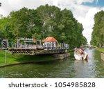 gizycko  warmian masurian... | Shutterstock . vector #1054985828