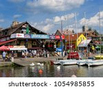 mikolajki  warmian masurian... | Shutterstock . vector #1054985855