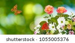 Stock photo beautiful flowers in the garden 1055005376
