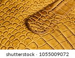 handle of genuine leather... | Shutterstock . vector #1055009072
