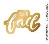 hand lettering . background...   Shutterstock .eps vector #1055028002