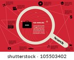 job application info graphic... | Shutterstock .eps vector #105503402