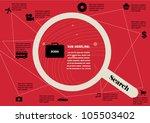 job application info graphic... | Shutterstock .eps vector #105503402