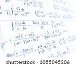 math concept   mathematical...   Shutterstock . vector #1055045306