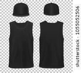 vector mock up black set...   Shutterstock .eps vector #1055052506