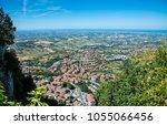 anorama of republic of san... | Shutterstock . vector #1055066456