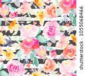 modern  painted  seamless... | Shutterstock . vector #1055068466