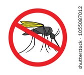 mosquito icon vector | Shutterstock .eps vector #1055087012