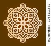backgorund f round patterns | Shutterstock .eps vector #1055111582