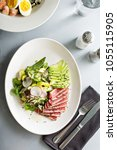 Tuna Steak Salad With Sliced...