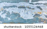 marble abstract acrylic... | Shutterstock . vector #1055126468