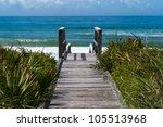 Ocean Access Boardwalk To...