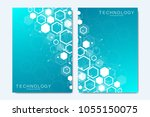 modern vector templates for... | Shutterstock .eps vector #1055150075