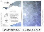 light blue vector  template for ...