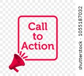 call to action message quote in ... | Shutterstock .eps vector #1055187032