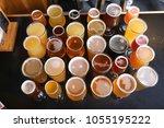 assorted craft beer varieties | Shutterstock . vector #1055195222