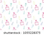 bottle seamless design elements | Shutterstock .eps vector #1055228375