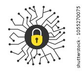 cyber security concept. vector...