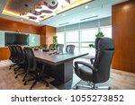 meeting room in modern style...   Shutterstock . vector #1055273852