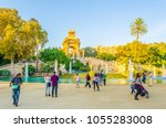 barcelona  spain  october 24... | Shutterstock . vector #1055283008