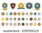 vector tools icon | Shutterstock .eps vector #1055353115