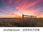 Colourful Country Sunset