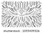Hand Sketched Vector Floral...