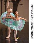 Two Ballet Students In Fancy...
