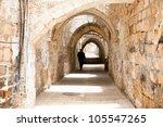 Sreet Of Jerusalem Old City...