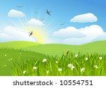 beautiful sun day   vector...   Shutterstock .eps vector #10554751