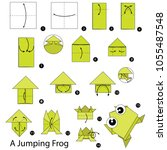 step by step instructions how... | Shutterstock .eps vector #1055487548