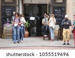 barcelona spain   june 9  at... | Shutterstock . vector #1055519696